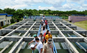 GSCWD at the Flocculation and Sedimentation Basins
