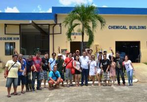 GSCWD Staff with GM Delgado