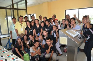 The Students at the Water Treatment Plant Control