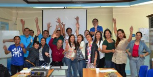 GM Delgado and Mr. Sibal with the participants